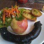 Boudin noir aux pommes