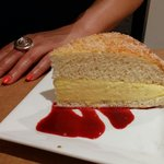 "La tarte Tropezienne de chez ""Micka"""