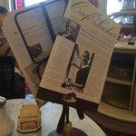 Меню в Cafe Sacher