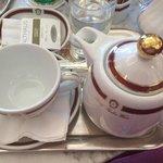 Чай в Cafe Sacher