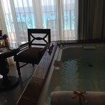 Vista banheira