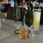 Cocktails at Roca