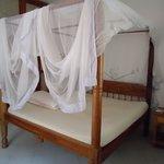 Stanza con letto matrimoniale + letto singolo e bagno annesso