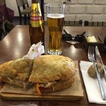 Had the Peruvian Butifarra (pork sandwich) which was delicious. The ambience, service and food w