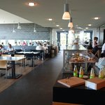 Nolde Stiftung. Restaurant