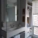 Standard Queen Cabin - Bathroom Storage/Sink Area