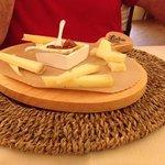 Plateau de fromages divers