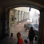 Rainy day in Riga