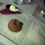 souffle al cioccolato e cheesecake
