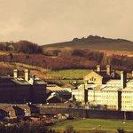 Dartmoor Prison from Tor Royal Lane
