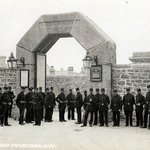 Dartmoor Prison Entrance in days gone by