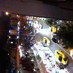 صورة الشارع من الفندق