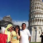 Near Pisa tower