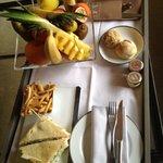 Room service impeccable et surtout délicieux ;-)