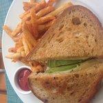 Reuben sandwich at Plumeria Restaurant