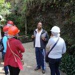 Início da visita à Mina Santa Rita
