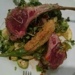 Awesome Lamb Chops with Fresh Greens!