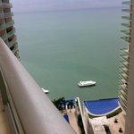Vista del Balcón de la habitación