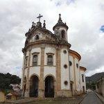 Fachada da Igreja Nossa Senhora do Rosário