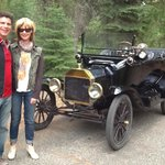 One of owners antique Model T's