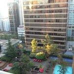 Facing Howe Street, 17th floor view, overlooking Four Seasons
