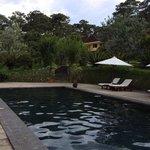 La piscine....