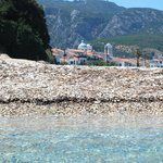 we visited Kokkari for food and for beach