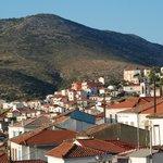Samos old town