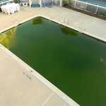 100' and the pool looked like this