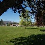Pioneer Park--opposite motel