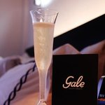 a warm welcome for guests @The Gale