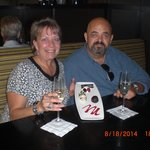 Our 35th wedding anniversary at Cooper's Hawk- great choice on our part!!