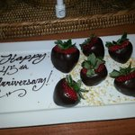 our anniversary welcome