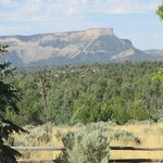 View of Mesa Verde from Flagstone Meadows