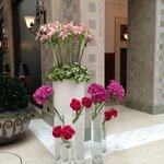Lobby Flowers May 2014