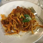 Pasta dish was very good
