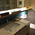 Bathroom was spacious
