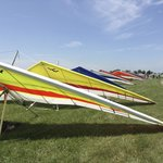 Start area at Hang Glider Comp June 2014
