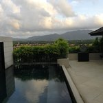The pool and view. Pool & Spa Villa