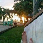 sunset from hammock