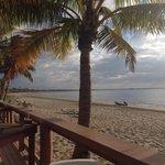 Beach from deck