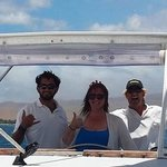 sailing the Alii Nui with Captain Tim and first mate Nick.