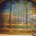 Cortina interior del Teatro del Palacio de Bellas Artes