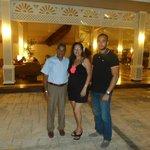 Con mi esposo y mi hijo