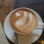 The perfect cafe latte!