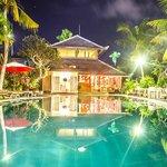 Your poolside restaurant terrace