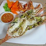 Grilled Phuket Lobster with Lemongrass