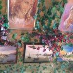 Картины на потолке))