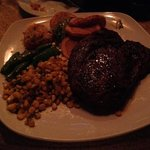 Ribeye Steak with Cowboy Fries