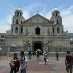 Quiapo Church from the outside during the Saturday mass